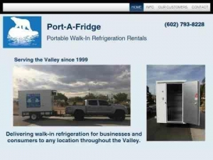 Portable Refrigeration Units for Outdoor Events - Delivered and Set Up At Your Site