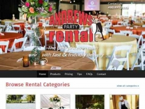 Andrews Party Rental